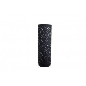 LV1923 - LAMPE D'AMBIANCE LED TOUCH NOIR MOTIF DECOUPE POP - INTERIOR