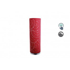 LV1924 - LAMPE D'AMBIANCE LED TOUCH ROUGE MOTIF DECOUPE POP - INTERIOR