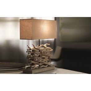 LV2004 - LAMPE A POSER NATURE/BOIS - ONLI