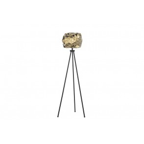 LV2026 - LAMPADAIRE FACETTES METAL/OR - ONLI