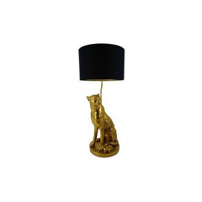 LV2071 - LAMPE PANTHERE ASSISE - INTERIOR