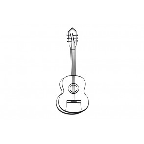 MD4793 - GUITARE STYLISEE 3D - BEAUX-ARTS