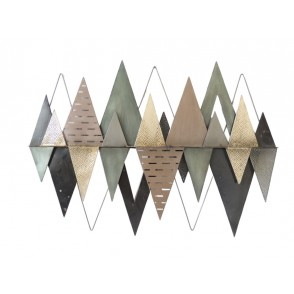 MD4831 - TRIANGLES DECALES EFFET LOSANGES - BEAUX-ARTS