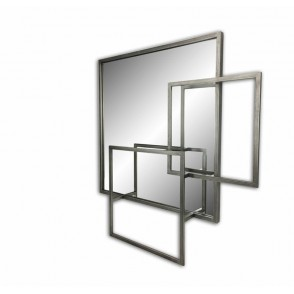 MD4860 - MIROIR CARRE SUPERPOSITIONS - BEAUX-ARTS