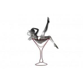 MD6179 - FEMME VERRE A PIED - BEAUX-ARTS