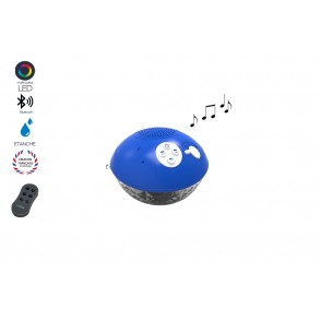 ML10702 - ENCEINTE BLUETOOTH ETANCHE IPX07/LUMIN.PM PLOOFBOX - MAGNETIC LAN