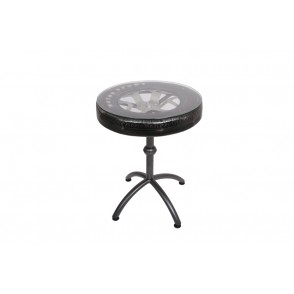 MM01104 - TABLE BOUT DE CANAPE DECOR PNEU - RACING