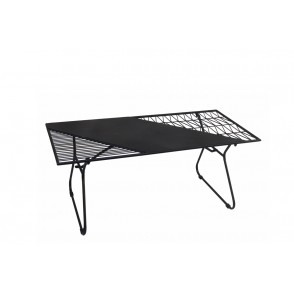 MM01119 - TABLE BASSE NOIRE - ART DE FER