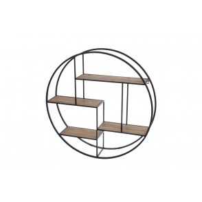 MM01212 - ETAGERE RONDE   - ART DE FER