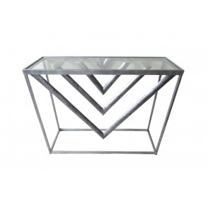 MM01262 - CONSOLE TRIANGLES - ART DE FER