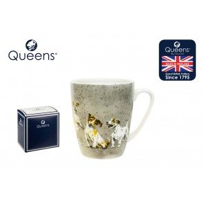 QS1074 - MUG JACK RUSSELLS COUTURE COMPANIONS 400 ML - QUEENS
