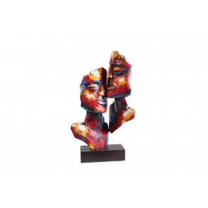 SD1071 - SCULPTURE METAL COUPLE  - PIGMENT