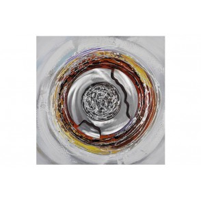TA5104 - CARRE DECOR ROND METAL 80 X 80 CM - GALLERY