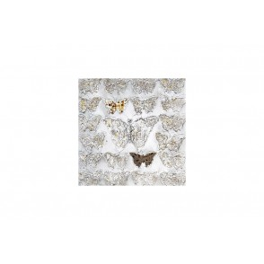 TA5316 - PAPILLONS RELIEFS EFFET OR 60*60CM - GALLERY