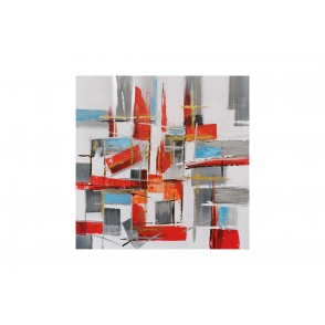 TA5551 - ABSTRAIT DESTRUCTURE 80*80 - GALLERY