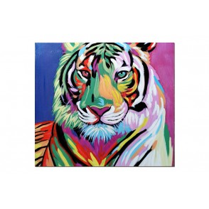TA5626 - TABLEAU TIGRE POP 60*60 - GALLERY