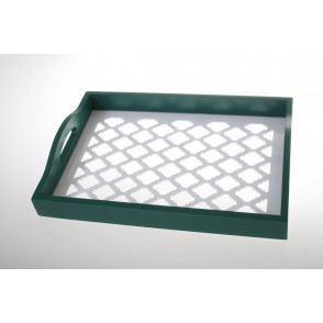UD7650 - PLATEAU MM DECOR GEOMETRIQUE - NATURA