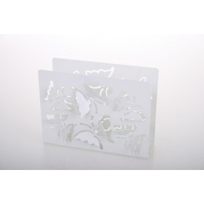 UD7664 - PORTE SERVIETTES DECOR PAPILLONS - HOME