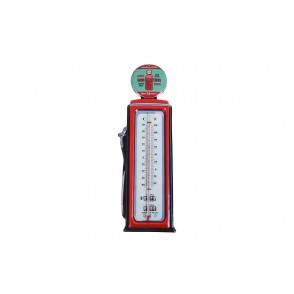 UD7686 - THERMOMETRE MURAL STYLE POMPE A ESSENCE - HOME