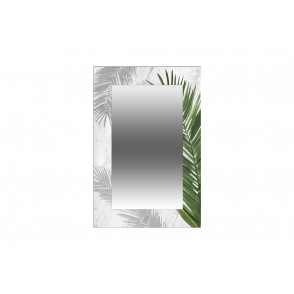 VA10284 - MIROIR RECTANGLE 60X40CM PALMIER - HARMONIE
