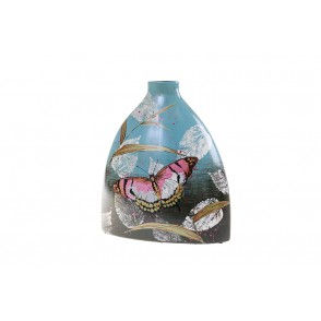 VA10453 - VASE DECOR PAPILLON - ACAPULCO