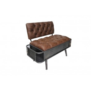 AT1019 - TRUNK/SOFA WITH SIDE STORAGE COMPARTMENTS - CONFORT
