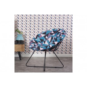 AT1036 - ROUND SHAPE SEAT GEOMETRIC PATTERN - CONFORT