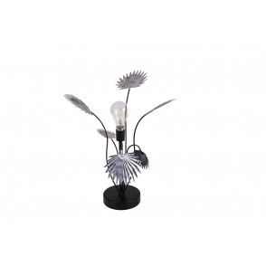 BJ3345 - MOBILE LAMP PALM TREE LEAVES SILVER - ECLIPSE
