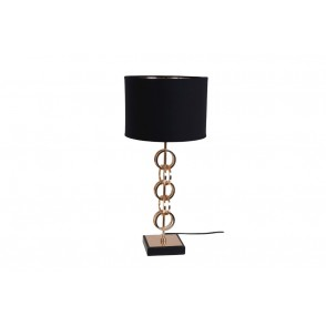 LV1910 - METAL LAMP CIRCLES GOLD  - INTERIOR