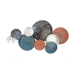 MD4867 - DISCS BLUE ORANGE GREY COLOR - BEAUX-ARTS