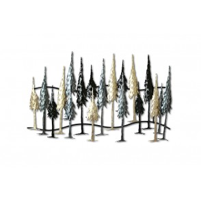 MD4942 - FOREST TREES XL SIZE - BEAUX-ARTS