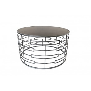 MM01342 - COFFEE TABLE LINES/RECTANGLES COL.GREY - ART DE FER