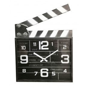 PE1837 - CINEMA CLAP CLOCK - TEMPO