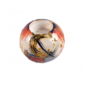 VA10405 - CANDLE HOLDER ABSTRACT SHAPES - ACAPULCO